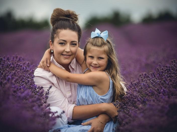 family portrait cotswold lavender