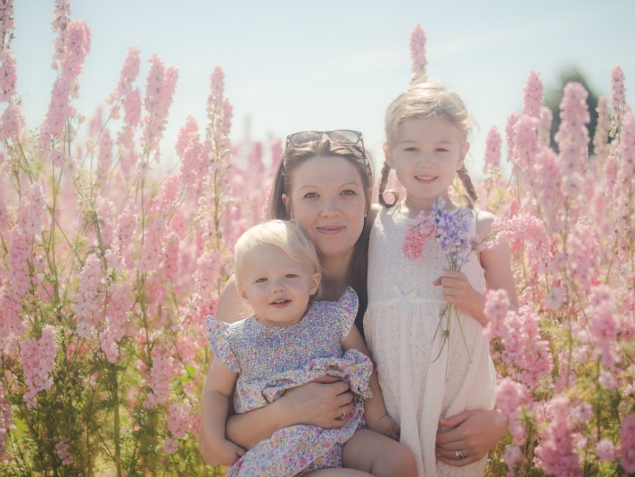 Gloucester photographer Confetti flower fields family