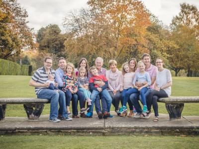 Family Photography, The Kinch Family at The Elms Hotel Worcestershire
