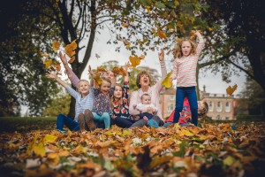 Family Photography Autumn The Elms Hotel Worcestershire