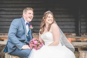 Over Farm Barn Gloucester wedding