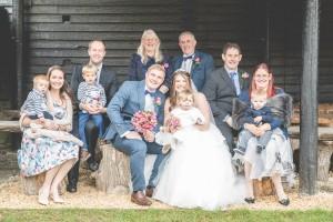 Over farm Barn wedding Photography Gloucester
