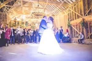 Over farm Barn Gloucester wedding photography