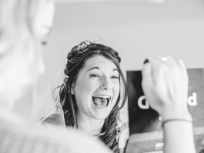 Gloucester wedding photography Bridal preparations