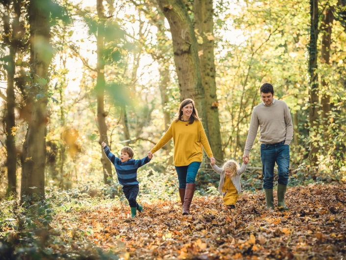 Gloucestershire autumn family photographer