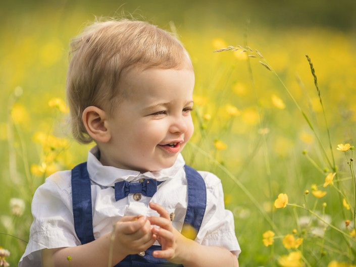 Child portrait photography buttercups Worcestershire