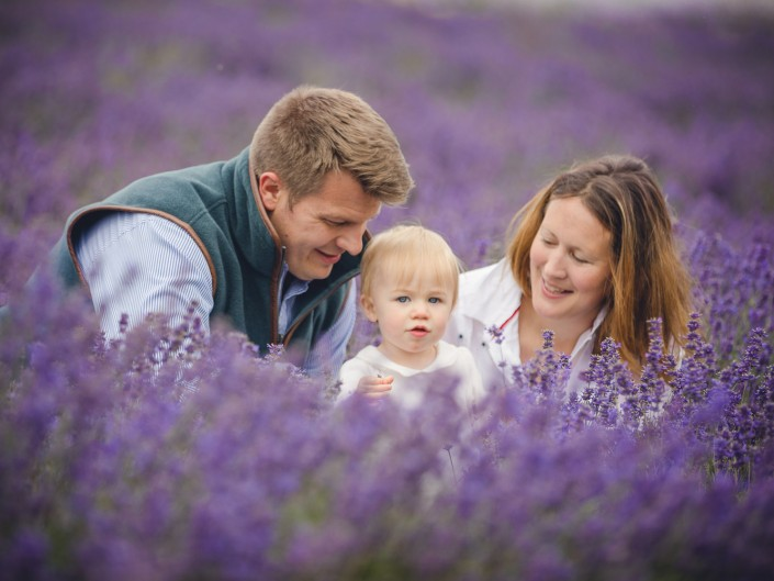family photography Cotswold lavender