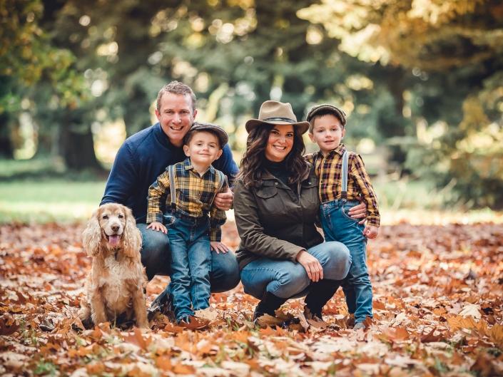 Gloucestershire Autumn family photoshoot