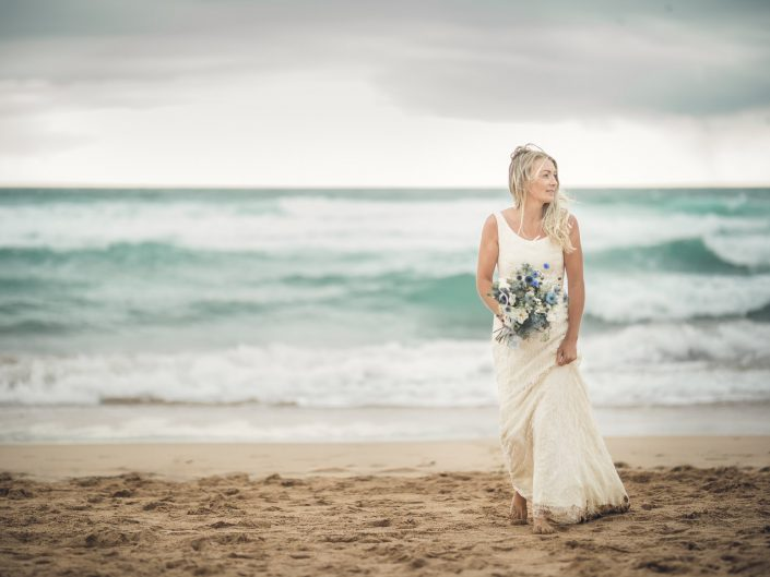 Beach wedding Cornwall