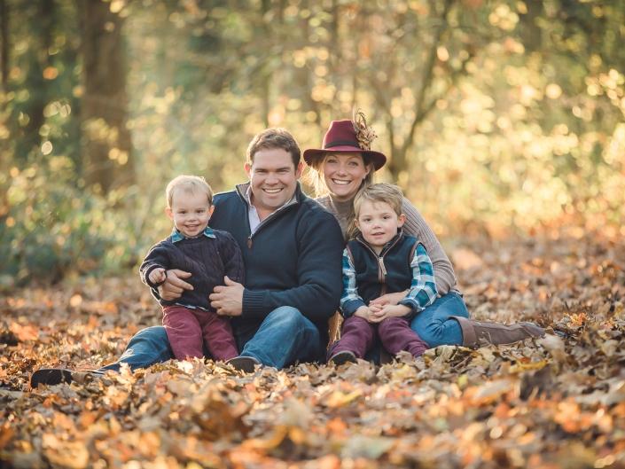 autumn family photoshoot Gloucestershire