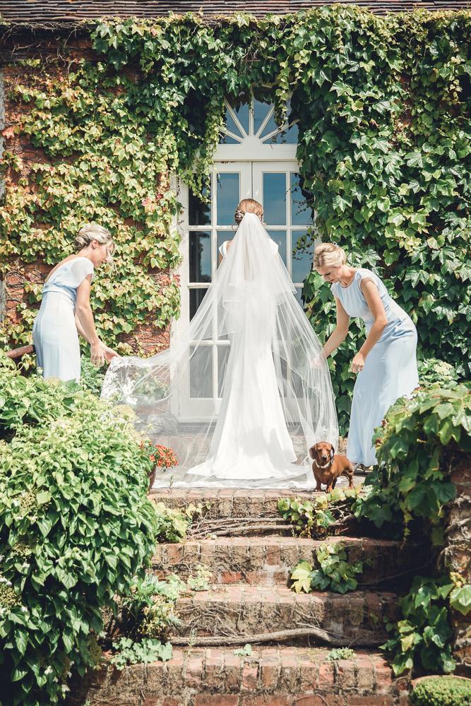 Bridal Veil Gloucestershire wedding