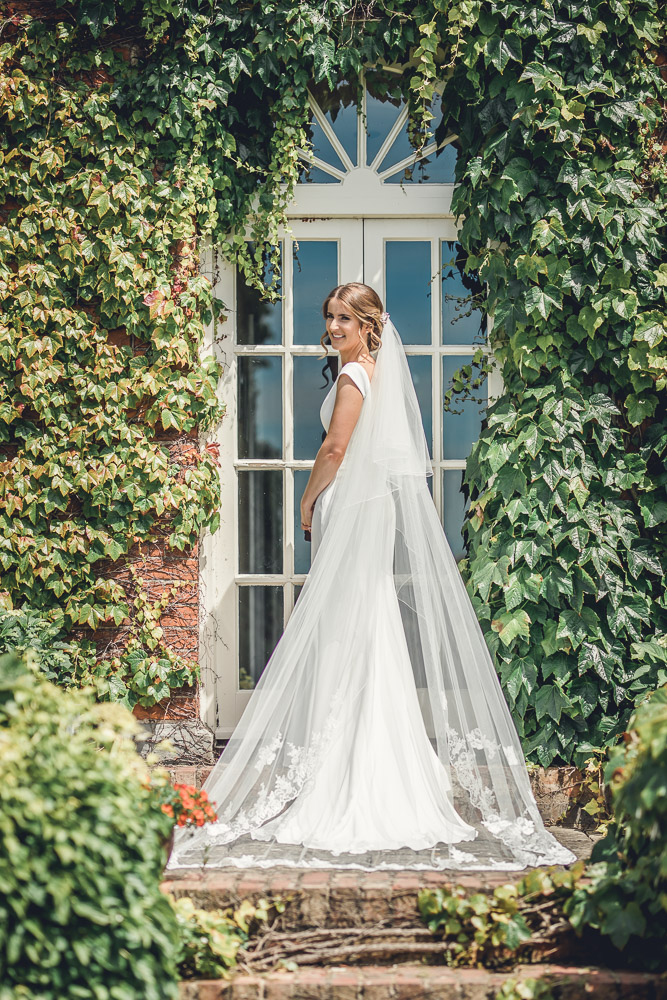 English country wedding dress
