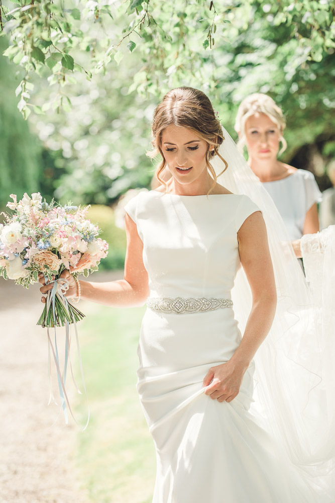 Wedding dress Gloucestershire wedding