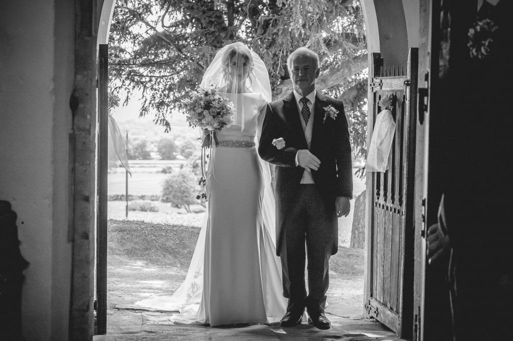 Bridal entrance Gloucestershire