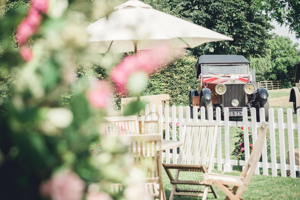 Summer English country wedding