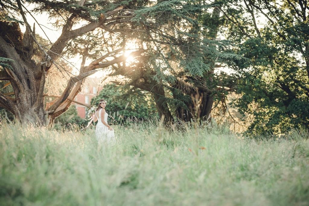 Golden Hour wedding Hereford